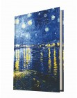 Art of Word / Starry Night Over The Rhone (Van Gogh)