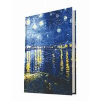Art of Word / Starry Night Over The Rhone (Van Gogh)