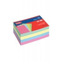 İndex Kartı A6 Renkli Çizgili (200 Kart)