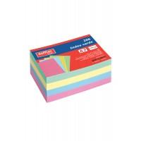 İndex Kartı A7 Renkli Çizgili (200 Kart)
