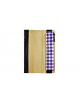 Kalem Çantası Lastikli / Eks. Purple