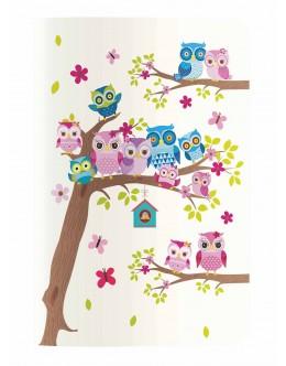 Design Seri 18,5x25 / Owls Family