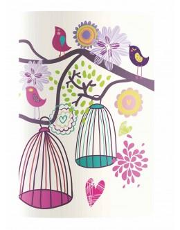 Design Seri 18,5x25 / Birds Housing