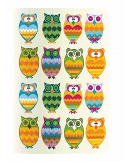 Design Seri 18,5x25 / Surprised Owls