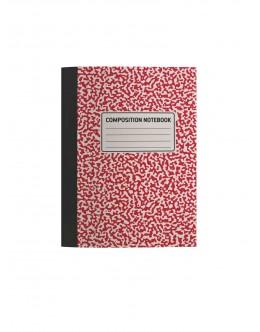 Kompozisyon Defteri A5 (Kırmızı)