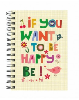 If You Want Be Happy, Be - 14*20