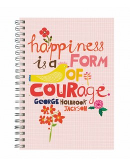 Happiness is a From of Courage - 20x28