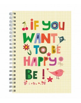 If You Want To Be Happy, Be - 20x28