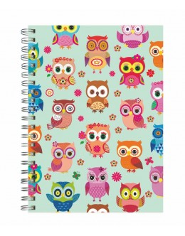 Happy Owls - 20x28